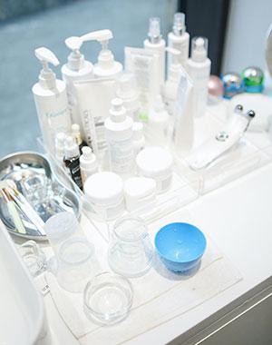 La vente de produits cosmétiques à domicile